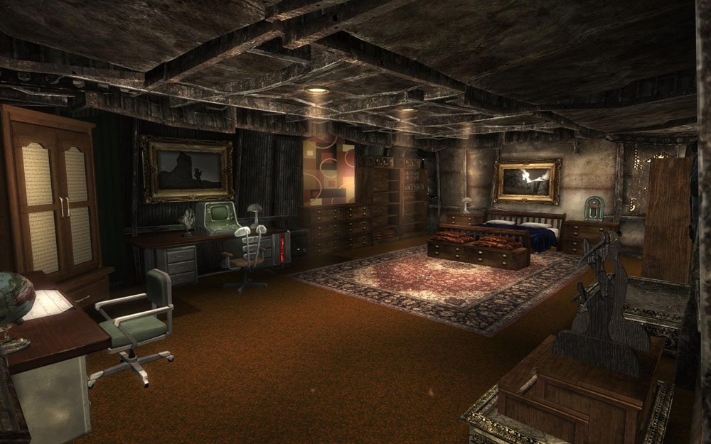 Megaton House and Theme Overhaul