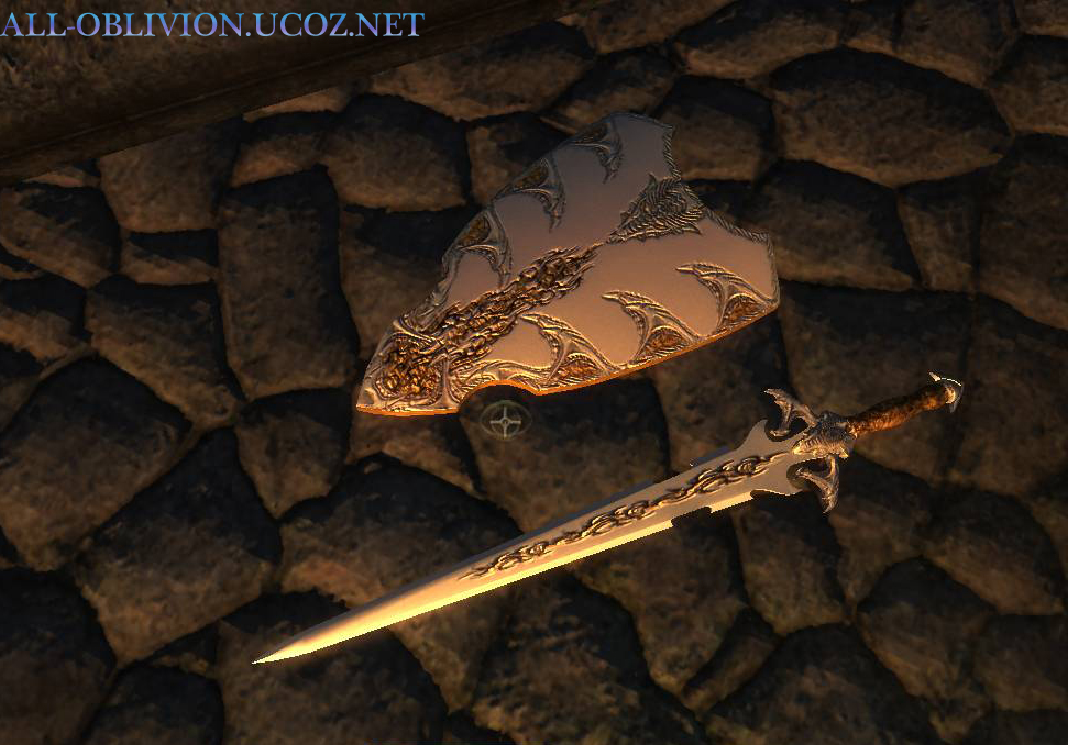 Dragon Claw Sword And Shield
