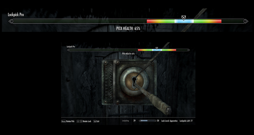 The Elder Scrolls V: Skyrim - Как взломать замки без навыков взлом.