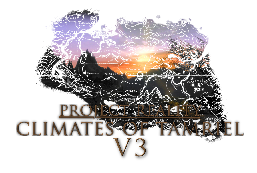 Project Reality - Climates Of Tamriel - Weather - Lighting \ Глобальный проект - Климат Тамриеля - Погода