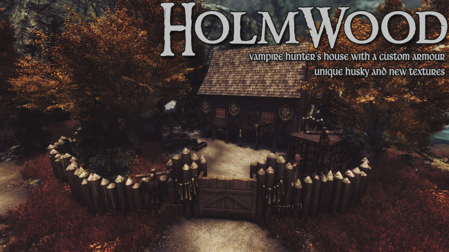 Holmwood - house for a vampire hunter