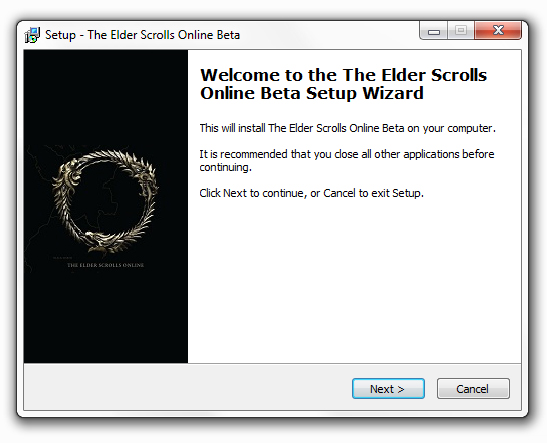 Клиент The Elder Scrolls Online Beta