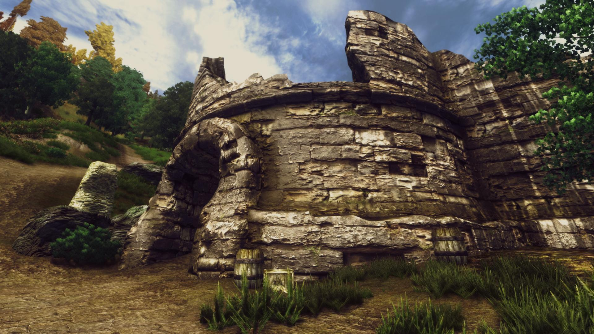 Forts Ruins retexture