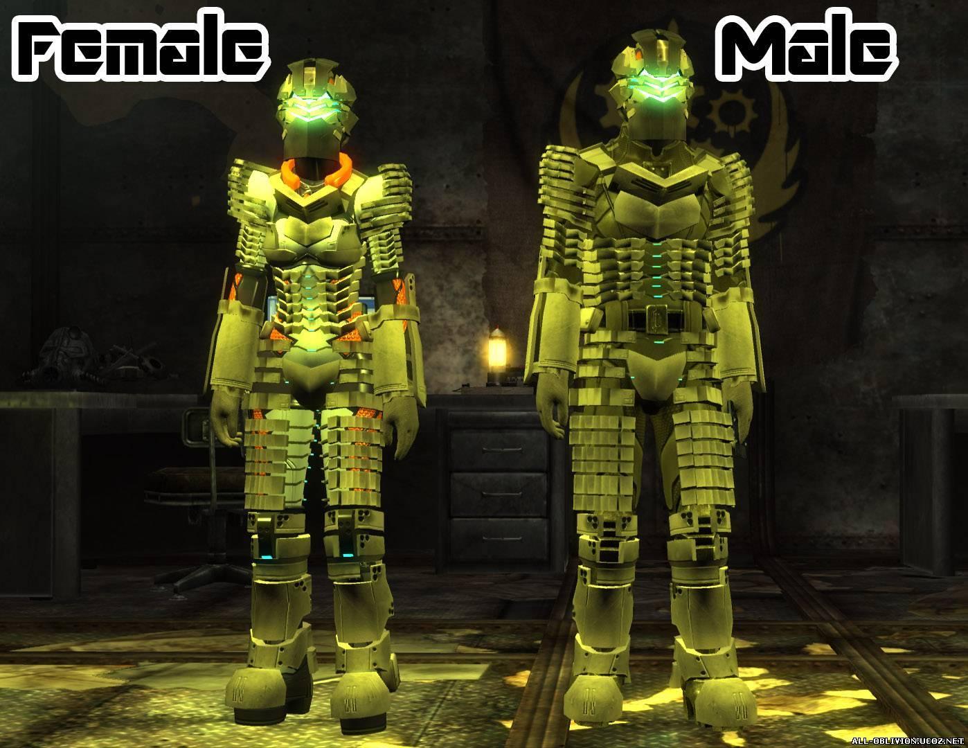 Броня из игры Dead Space - Броня и одежда - Fallout New Vegas