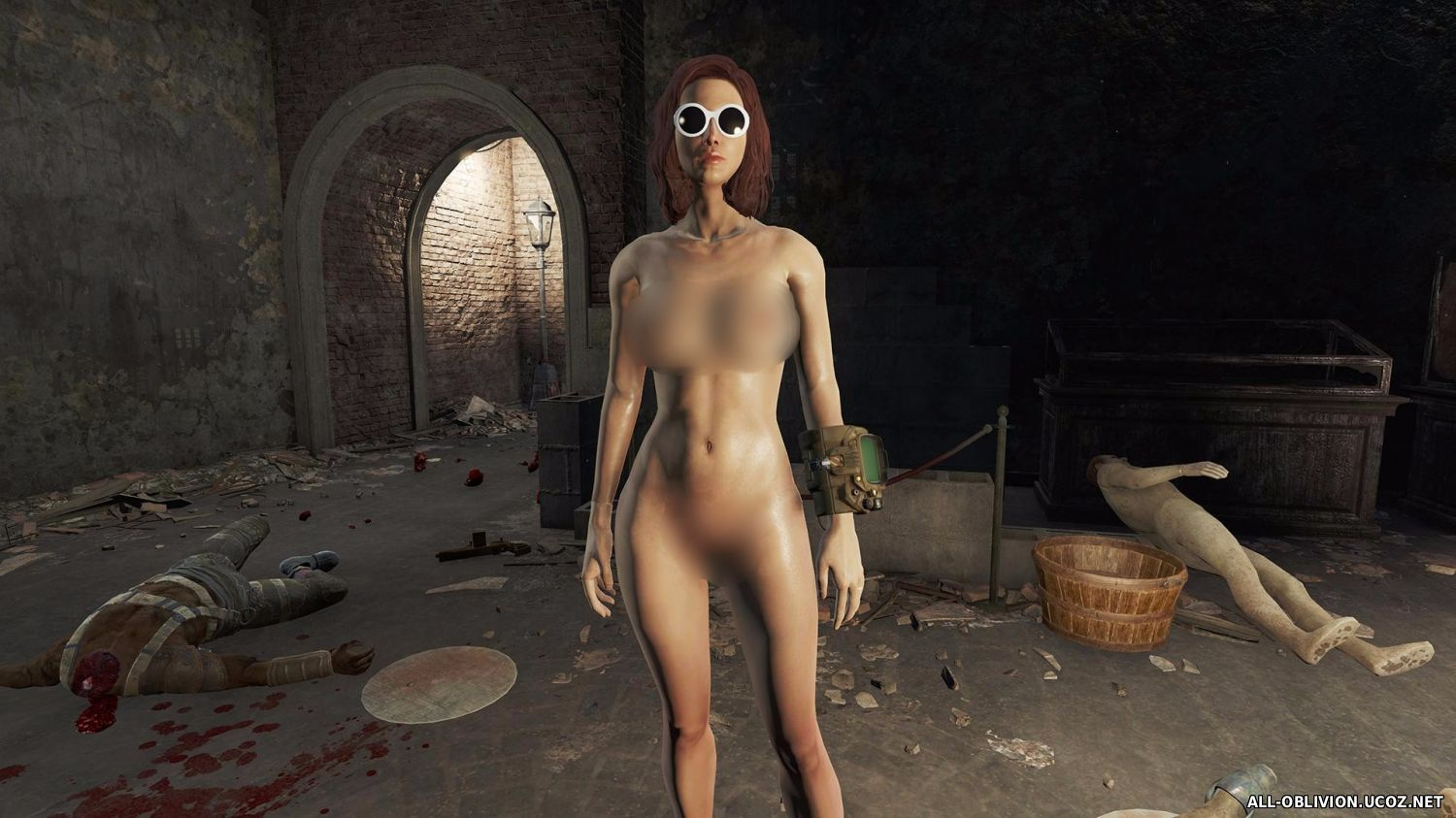 Fallout 3 nude girls mod uncensored exploited movie
